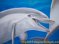 Childrens Hospital Kings Daughters Mural Dolphins