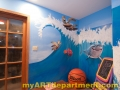Disney characters mural kids playroom Nemo