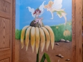 Disney characters mural kids playroom - Tinkerbell