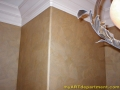 Torn Paper Finish - bathroom