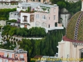 Hand Painted Positano Italy Mural - Building Detail