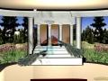 Roman Villa Mural - CAD Rendering