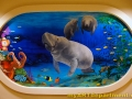 Healthcare Mural - Kids Playroom - Manatee