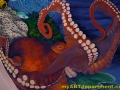 Healthcare Mural - Kids Playroom - Octopus