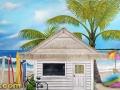 Beach Mural in Boy's Bedroom - Complete