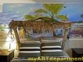 Beach Mural in Boy's Bedroom - Installed