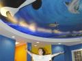 Underwater Mural for Dentist's Office - Cindy Chinn
