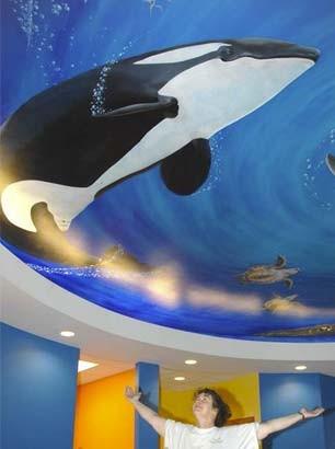 Underwater Mural for Dentist's Office