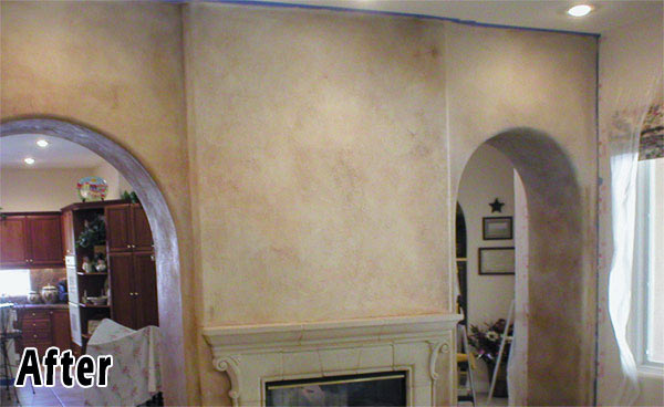 Tuscan Faux Finish Home