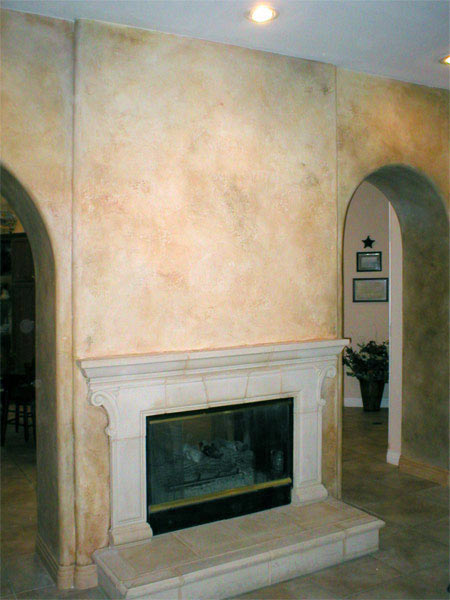 Tuscan Faux Finish At Home