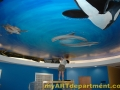 Underwater Mural for Dentist's Office - Touching Up