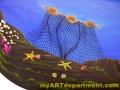 Underwater Mural for Dentist's Office - Fish Net